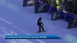 Canadian snowboarder Mark McMorris severely injured at Whistler