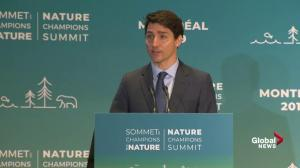 Trudeau says floods, droughts show climate change can't be ignored