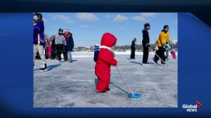 Ringette on the River event