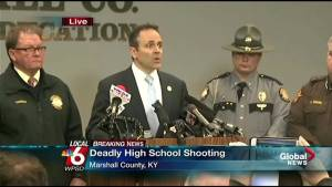 Kentucky Governor confirms 17 injured in school shooting, two killed