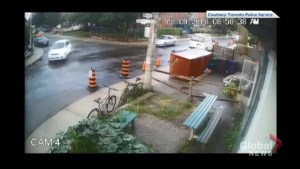 Video shows drive-by shooting in Toronto's Junction neighbourhood