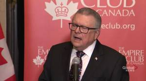 Goodale says rumoured ban on Huawei is 'speculation'