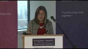 Provence $390 000 for HVAC improvements at Kingston General Hospital