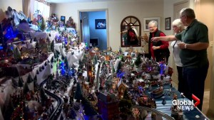 Calgary man's international Christmas village dazzles visitors: 'It's just incredible!'