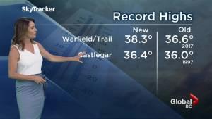 B.C. evening weather forecast: Aug 6