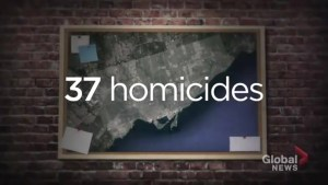 Toronto police looking for suspects in 16 of 37 homicides in 2018