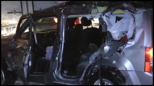 Teen seriously injured in multi-vehicle crash on Highway 401 near Brighton