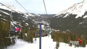 Spring skiing, snowboarding draws many to Alberta ski resort before season ends