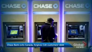 Chase Bank forgives debt for its Canadian credit card owners