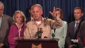 Las Vegas Sheriff praises hotel security, police for stopping shooter
