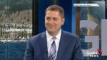 Conservative Party Leader Andrew Scheer visits Global Okanagan