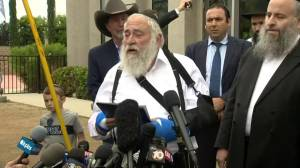 Chabad of Poway Rabbi says call from Trump was 'so comforting'