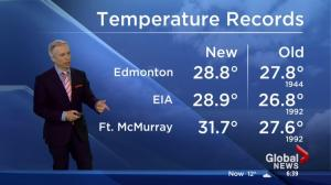 Slight chance of showers only good news on the horizon for Fort McMurray