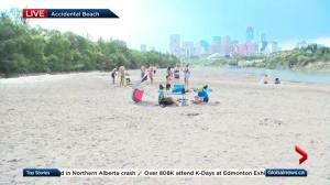 Another day of sizzling temperatures for Alberta's capital