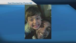 Dad shocked by $8,000 iTunes bill (03:41)