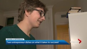 Thinking big at 15: Toronto teen already knows what it takes to succeed