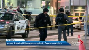 Man shot at Yonge-Dundas Square becomes Toronto's latest murder victim
