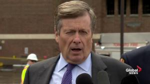 Mayor Tory comments on investigation into Toronto school fire