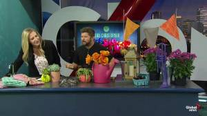 How to host a bright garden party with Cory Christopher