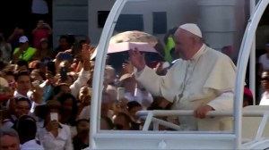 Pope says weary Church 'wounded by her own sin,' in reference to abuse