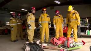First Nations students get hands on wildfire training through partnership
