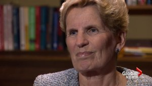 Ontario Premier Kathleen Wynne speaks about #FirstTimeIWasCalled