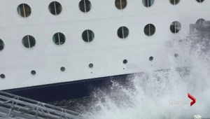 Cruise ship hits dock in Alaska