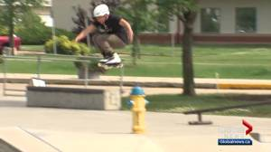 Inline skaters flock to Leduc for Shredmonton (00:51)