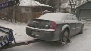 Cold winter weather wreaking havoc on Winnipeg drivers
