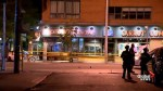 Greektown stunned by 'tragedy' of mass shooting