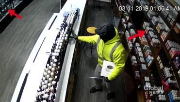 Winnipeg vape store robbery video features bumbling crooks