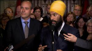 Canadians imprisoned for pot possession is 'offensive': Jagmeet Singh