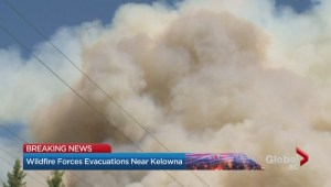 New fire near Kelowna forces evacuations