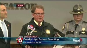 Suspect in Kentucky School shooting to be charged with murder, attempted murder