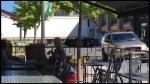 Transport truck blocks Hunter Street in downtown Peterborough