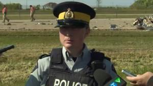 Manitoba RCMP provide update after fatal morning plane crash