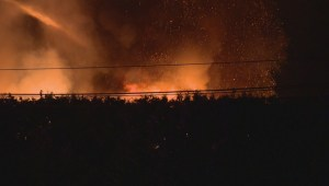 Fire in Langley destroys collector cars