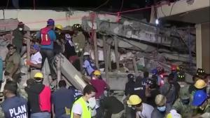 Frantic search for survivors of Mexico's deadly quake