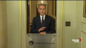 Bank of England governor expects some economic volatility following Brexit vote