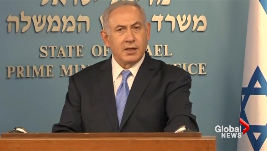 Netanyahu hails Trump over Iran, says nuclear deal was 'recipe for disaster'