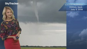 Landspout tornado spotted, more funnel clouds and extreme heat in the forecast