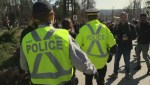 RCMP Descend on Kinder Morgan site in Burnaby