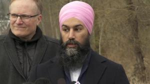 How would Jagmeet Singh deal with SNC-Lavalin controversy if he was Prime Minister