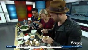 Chef Dennis Prescott shares comfort foods from around the world