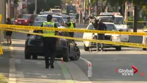 Fatal crash in Toronto leaves 1 pedestrian dead, another seriously injured (01:21)