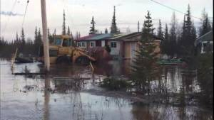 Churchill residents on edge after rail line cut off