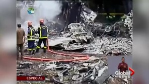 Cuban president visits site of plane crash that killed more than 100 people