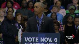 'When you vote, you can choose hope over fear': Obama tells Indiana