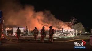 Man pleads guilty to arson in $6M Edmonton condo fire
