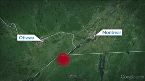 Small earthquake strikes Ontario-Quebec border